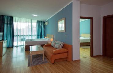 Apartmá sjednou ložnicí